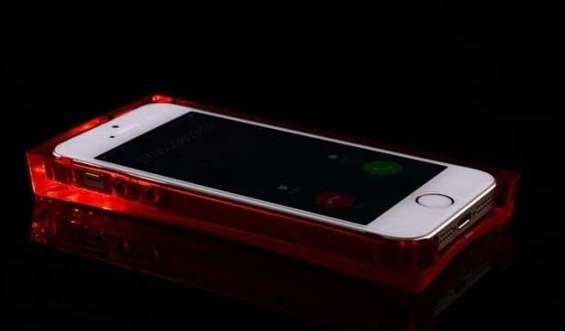LED Light Up Ice Cube Phone Case For IPhone And Samsung