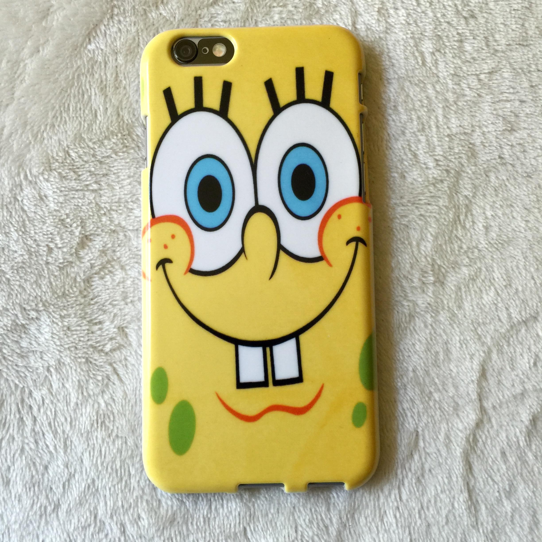 spongebob squarepants phone case   iphone samsung