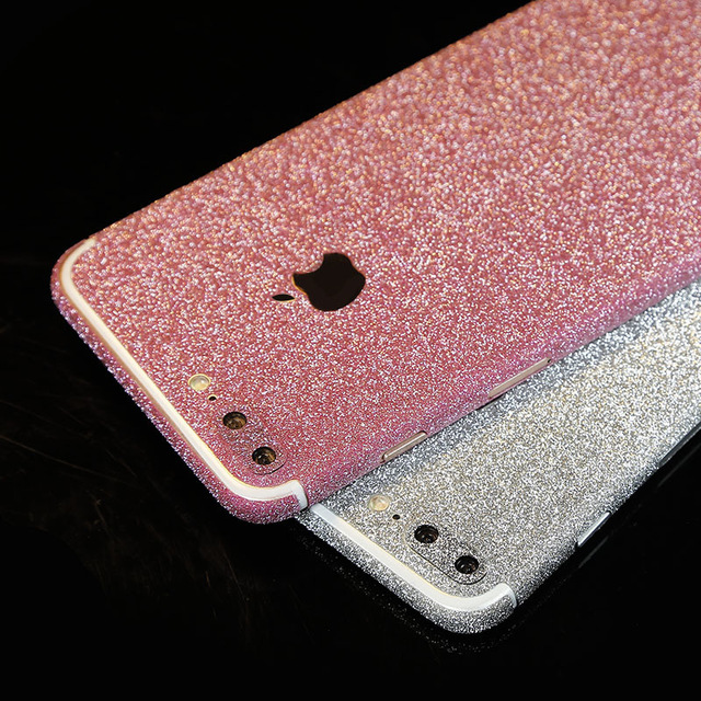 glitter iphone 7 sticker skin for iphone 7 iphone 7 plus. Black Bedroom Furniture Sets. Home Design Ideas